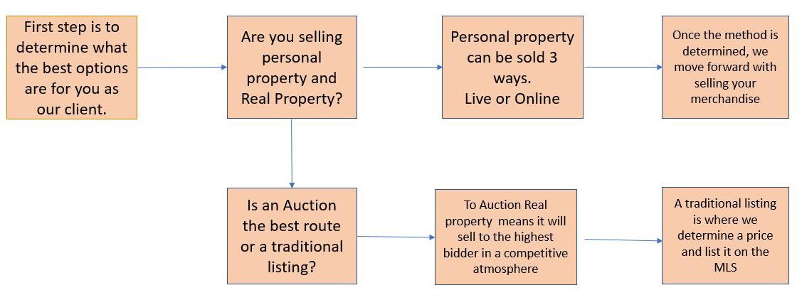 Auction Flow Chart for Main Auction